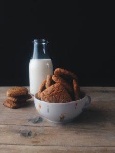 Biscotti integrali all'olio.